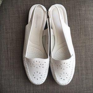 Covington Women's White Summer Shoes Size 9M